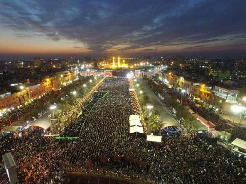 رکورد زنی زائران حرم امام حسین ع در سال 94