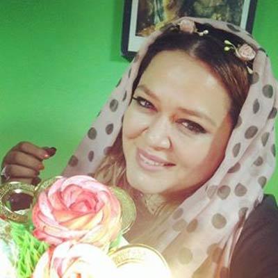 غافلگیری دختر بهاره رهنما و پیمان قاسمخانی برای مادر +عکس