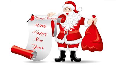 پیامک جدید تبریک سال نو میلادی 2016