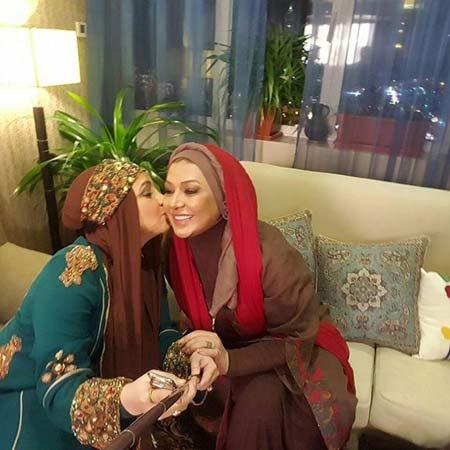 پشت صحنه شام ایرانی در خانه بازیگران زن معروف