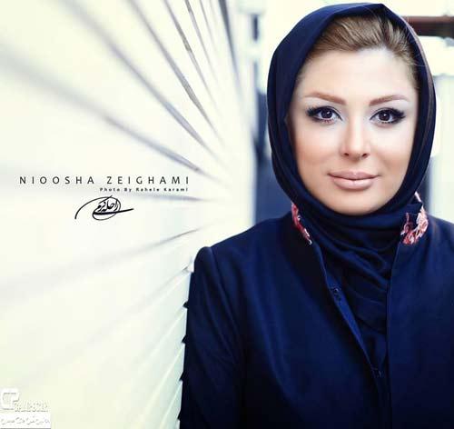 داغ ترین عکسهای  نیوشا ضیغمی و همسرش