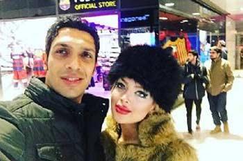 اخبار جدید از سپهر حيدری و همسرش در اسپانیا+عکس