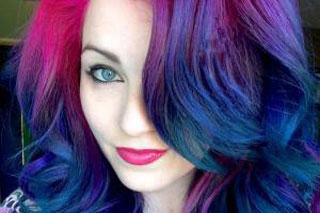 رنگ موی دختری که سوژه جهانی شد +عکس