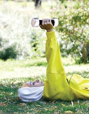 حرکات ورزشی  طلایی برای تناسب اندام