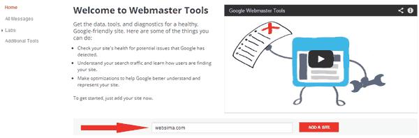 ثبت رایگان سایت در گوگل وبمستر