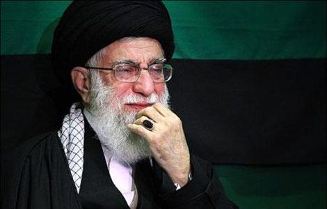 عزاداری فاطمیه 1437 در حسینیه امام خمینی با حضور رهبری