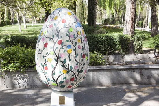 تصاویر هنرهای محیطی تهران در بهار 95