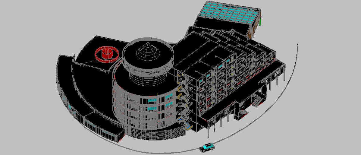 دانلود پروژه معماری طراحی هتل توریستی