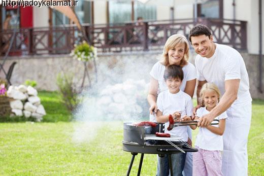 یک خانواده واقعا شاد، این شکلیه!