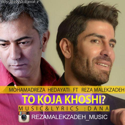 آهنگ جدید رضا ملک زاده و محمدرضا هدایتی بنام تو کجا خوشی