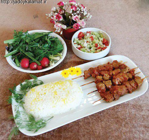 غذاهای پیشنهادی بومی مشهد، رامسر و اصفهان