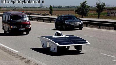 خودرو خورشیدی ایرانی به صحرای آمریکا رفت - اخبار