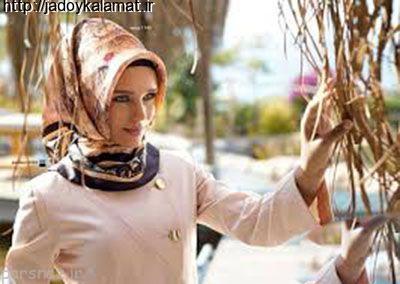 جدیدترین مدل های مانتو با حجاب کامل 95