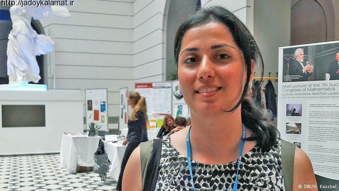 جایزه با ارزش جامعه ریاضیات اروپا در دستان سارا زاهدی