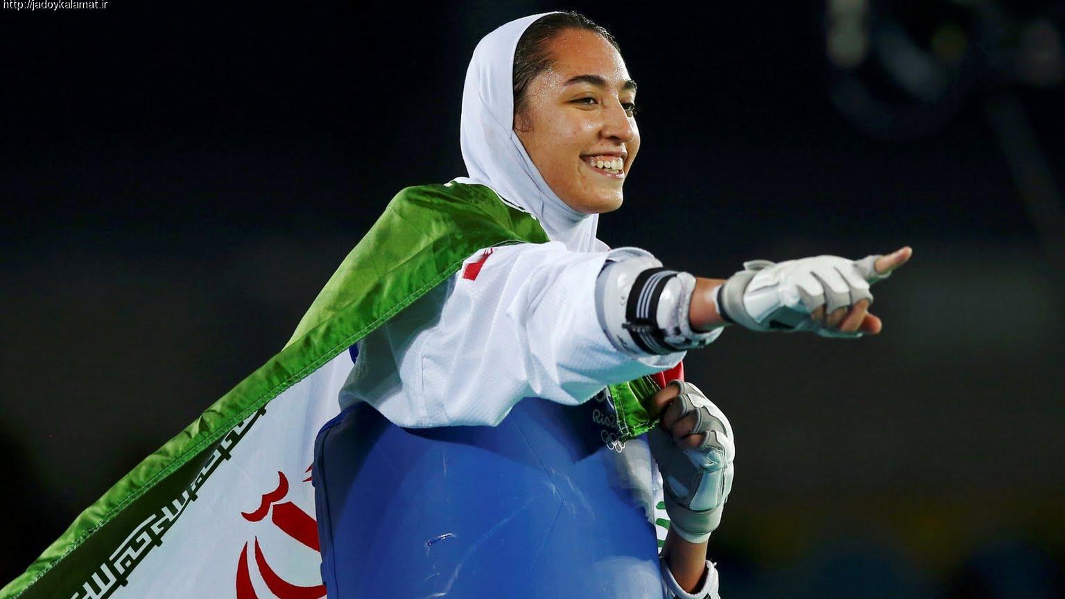 قهرمان سال ۲۰۱۱ جهان در برابر کیمیا علیزاده سر خم کرد