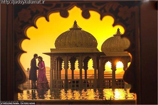 عکس عروس و داماد برای مدل عکاسی