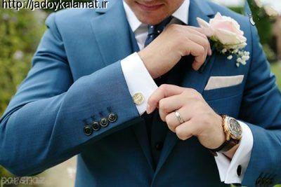 مدل جدید کت و کراوات دامادی شیک