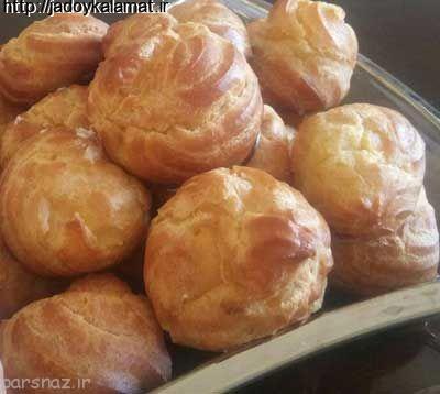 طرز تهیه یک نان خامه ای خیلی خوشمزه