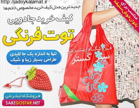 خرید کیف خرید جادویی توت فرنگی