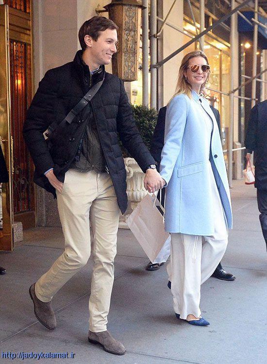 جدیدترین عکس ایوانکا ترامپ دختر رئیس جمهور منتخب آمریکا