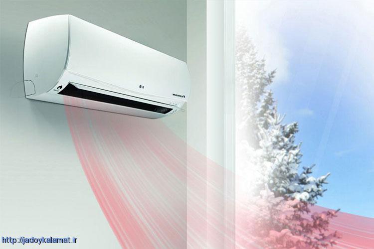 یک دستگاه در تابستان و زمستان بدون هزینه اضافی