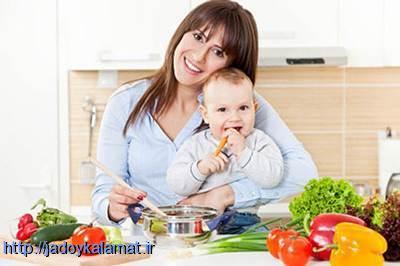کاهش وزن بعد از زایمان مادران