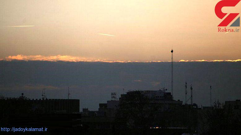 فیلم از لحظه شلیک ضدهوایی تا بر خواستن جنگنده ها به آسمان تهران