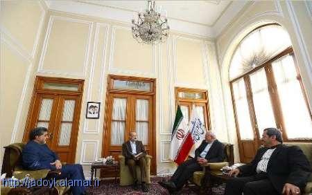 وزیر خارجه دیدار عیدانه ای با رییس مجلس داشت
