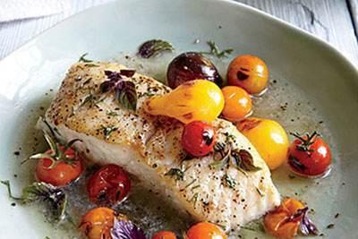 آموزش درست کردن فیله ماهی و گوجه فرنگی خوشمزه