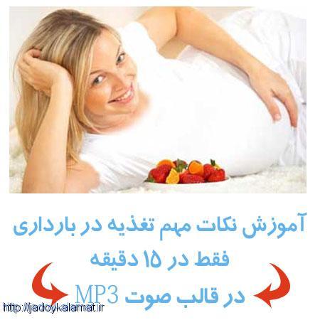 راهنمای مهم تغذیه در بارداری