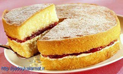 نحوه پخت کیک اسفنجی با آرد کامل