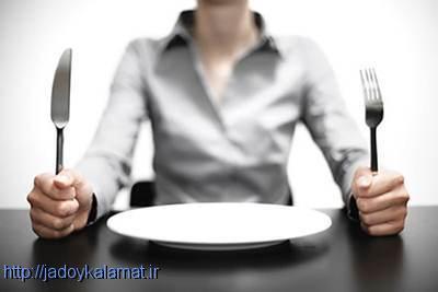 عادت کردن گرسنگی شدید در طول رژیم غذایی