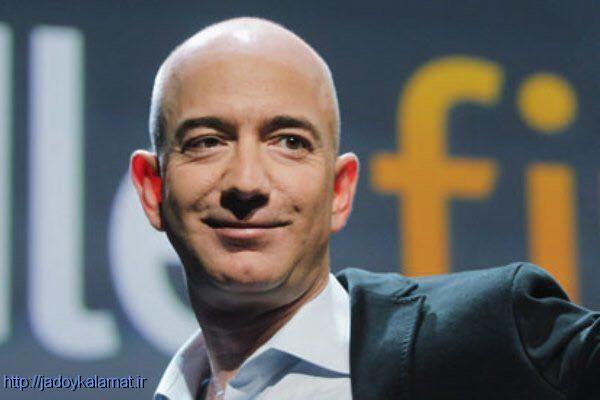 رئیس آمازون ثروتمندترین مرد جهان