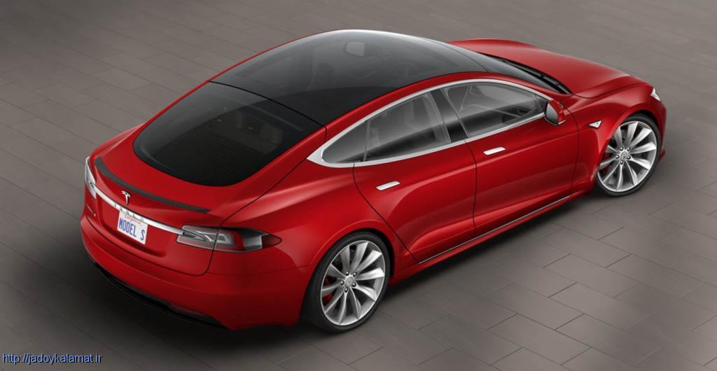 رونمایی از آپشن های خودرو تسلا Model S