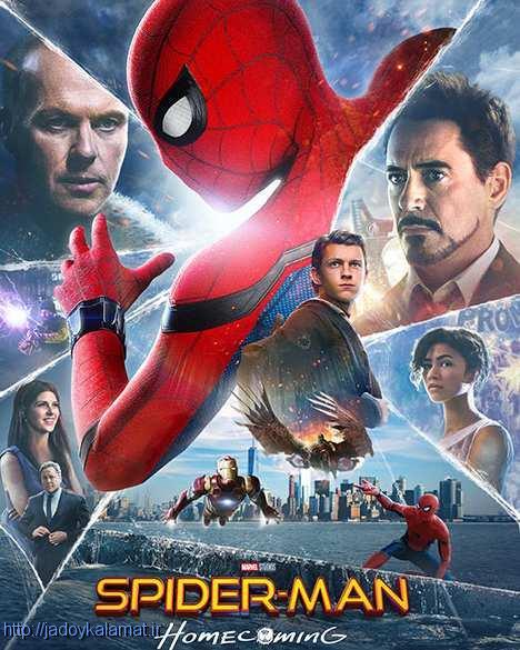 دانلود فیلم مرد عنکبوتی بازگشت به خانه 2017 دوبله دوزبانه