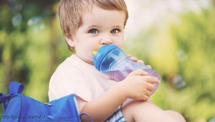 میزان مصرف دقیق آب برای کودکان