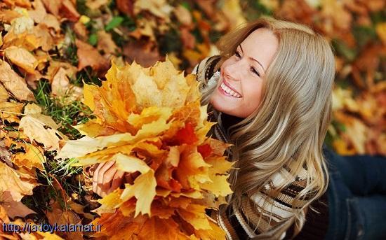 مراقبت از موها در فصل پاییز