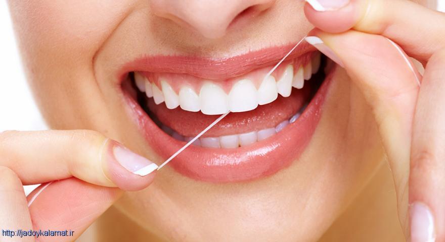 آیا نخ دندان برای لثه ها و دندان مضر نیست ؟