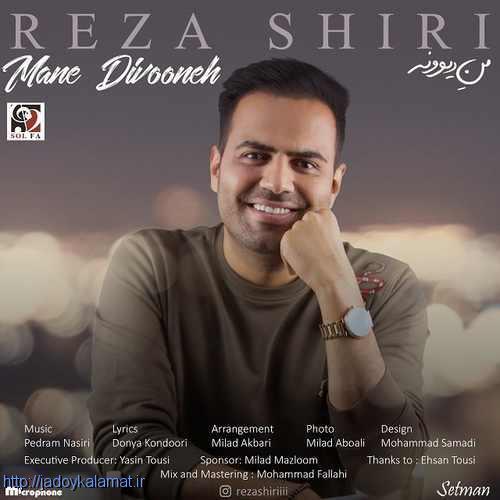 آهنگ جدید من دیوونه از رضا شیری