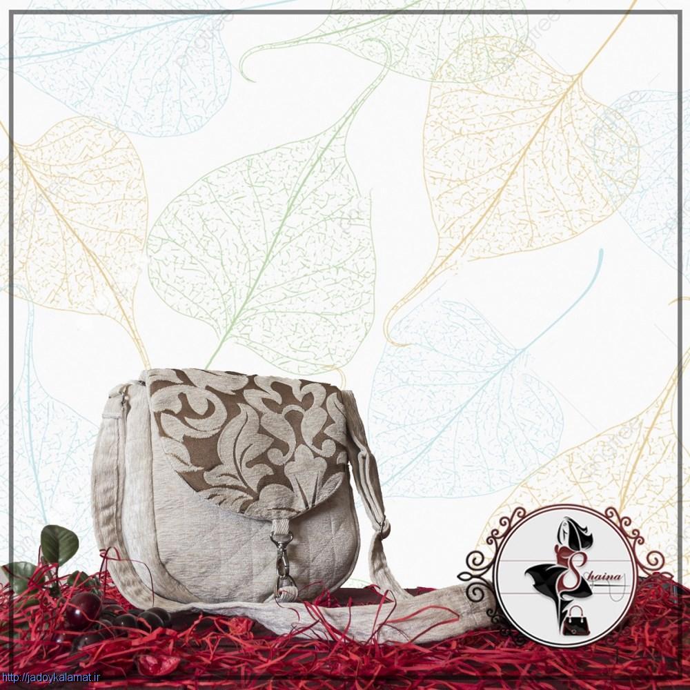 کیف بندی زیبا و جذاب طرح سفید شیری
