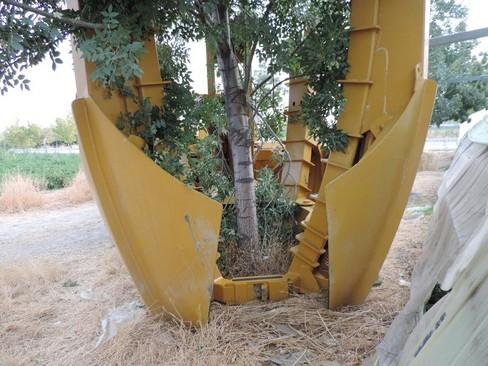 دستگاه جدید انتقال درخت به جای قطع آن در ایران+عکس