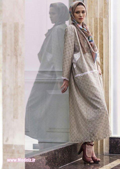 مدل مانتو  جدید اسلامی بلند جدید 2015 +عکس