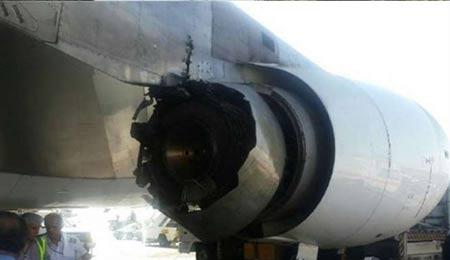 نجات 300 مسافر هواپیمای ایرانی در حادثه وحشتناک+عکس