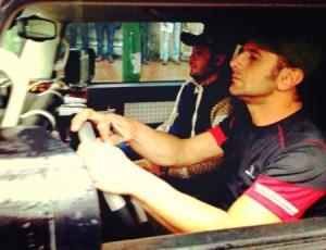 تصاویر فیلمبرداری فیلم سینمایی نارون در لاهیجان