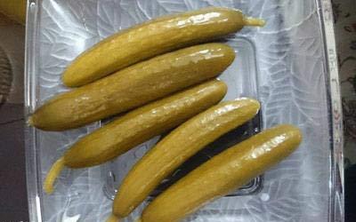 طرز تهیه خیارشور در 3 روز